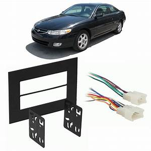 Toyota Solara 1999-2003 Double Din Stereo Harness Radio Install Dash Kit Package