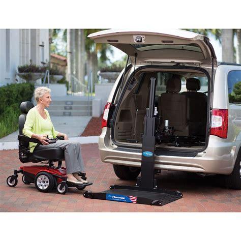 harmar inside outside vehicle wheelchair lift al600 lift