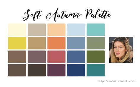 soft autumn color palette soft autumn palette soft and warm infinite closet