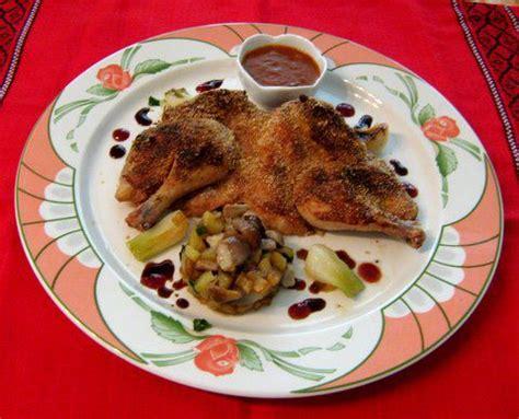 cuisiner coquelet coquelet en crapaudine au sirop d 39 érable amafacon