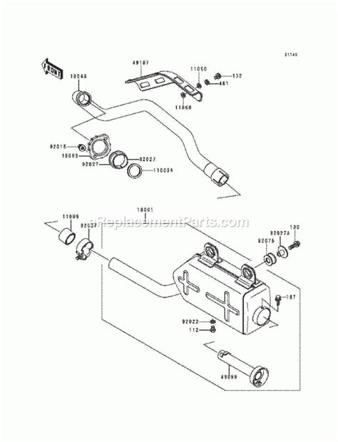 Kawasaki Bayou Parts Diagram Automotive