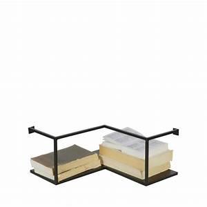 Petite étagère D Angle : etag re d 39 angle design industriel m tal noir meert by drawer ~ Teatrodelosmanantiales.com Idées de Décoration