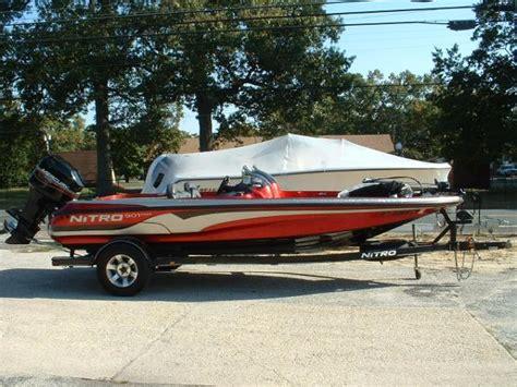Used Nitro Bass Boats Texas by Used Bass Nitro Boats For Sale 4 Boats