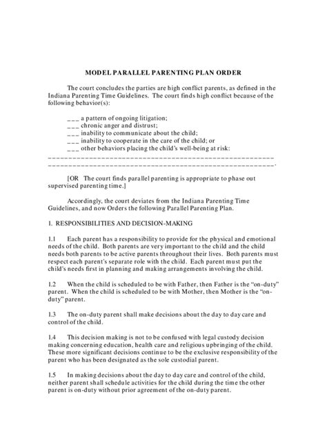 indiana divorce forms  templates   word excel