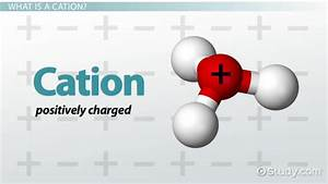 Cation: Definition & Examples - Video & Lesson Transcript ...