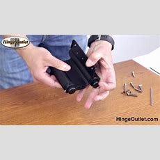 How To Adjust A Double Action Hinge Also Known As A Saloon Door Hinge Youtube