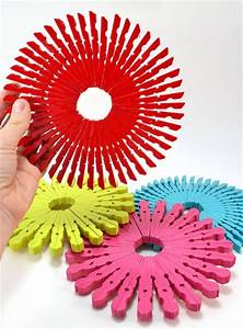 Make Clothespin Trivets – Dollar Store Crafts