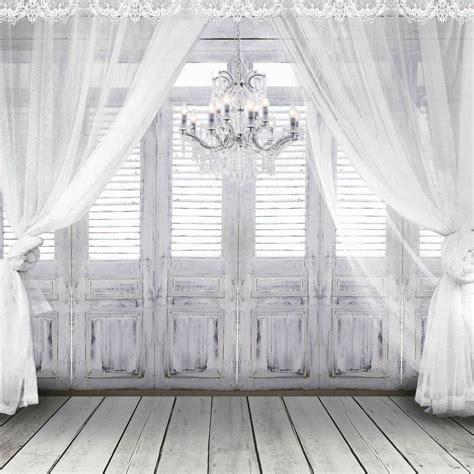 amazoncom  ft fundo white chandelier doors wedding