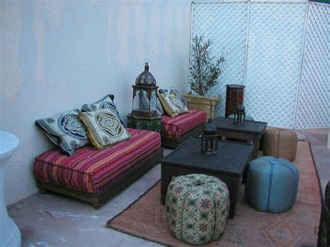 moroccan patio arabian decor
