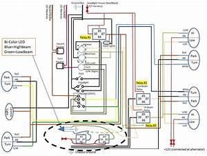 Relay Could Use Some Help On What Should Be A Simple Led Wiring Scenario Wiring Diagram