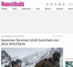 Jack Wolfskin Gewinnspiel : jack wolfskin gutschein gewinnspiel gewinnspiele 2018 ~ Yasmunasinghe.com Haus und Dekorationen