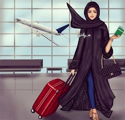 pin oleh zehra  luggage travel wanita baju muslim