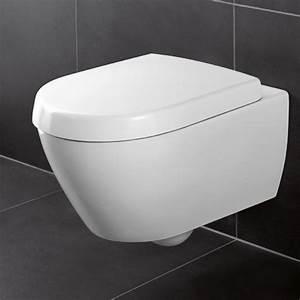 Villeroy Und Boch Wand Wc : villeroy boch subway 2 0 wand wc set mit wc sitz quickrelease und softclosing design in bad ~ Buech-reservation.com Haus und Dekorationen