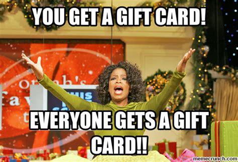 Gifts For Meme - gift card meme memes