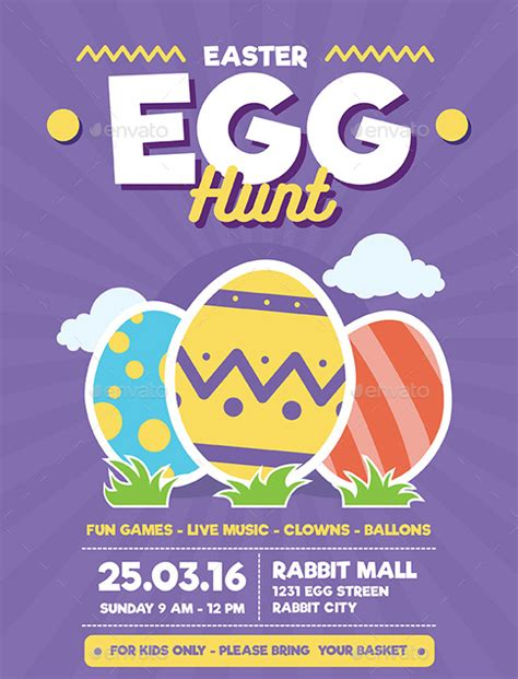 easter flyer template 31 easter flyer templates free sle exle format free premium templates