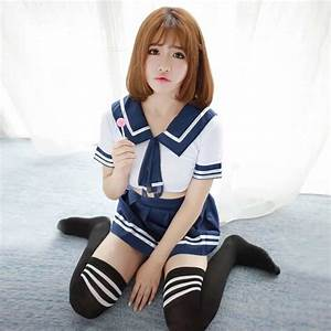 [Instock] Sexy Japanese School Girl Outfit, Women's