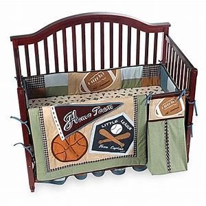 CoCaLo Sports Fan 6 Piece Crib Bedding Bed Bath Beyond