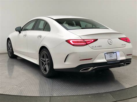 It features led headlights and taillights, a power glass. New 2020 Mercedes-Benz CLS CLS 450 4MATIC® Coupe Coupe in Chantilly #7200839   Mercedes-Benz of ...