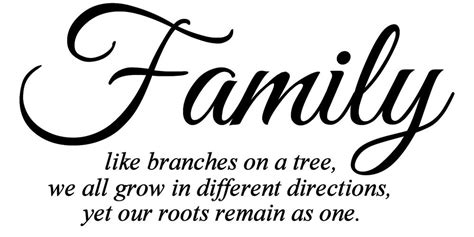 Family Like Branches On A Tree Quotes