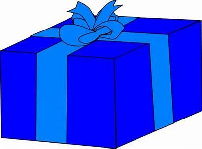 Gift Box Clip Clipart Clker Vector