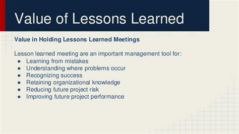 lessons learned project management project lessons learnt template project lessons learned template 2 free templates in pdf 7
