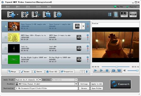 tipard mkv video converter convert mkv  avi mpg mp