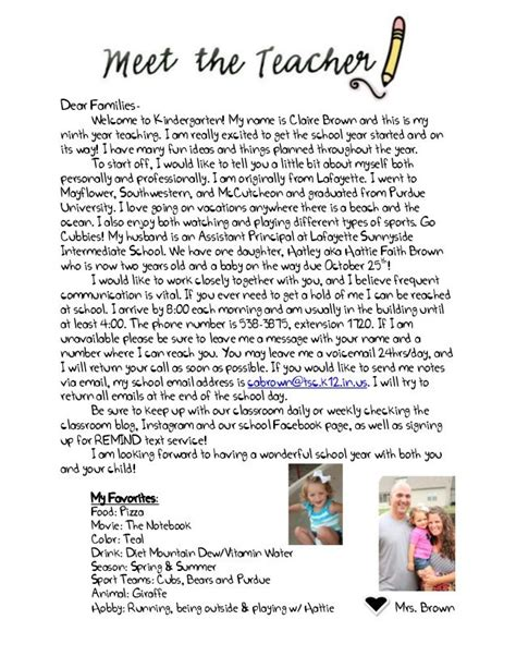 preschool teacher welcome letter welcome letter to parents from 631