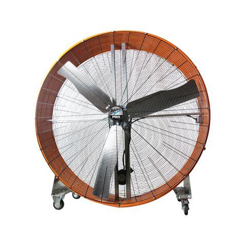 home depot drum fan maxxair pro 60 in 2 speed drum fan with steel casters