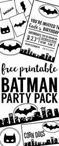 Free Batman Party Printables Cumple, Te lo mereces y