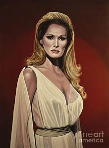 Ursula Andress 2 Painting by Paul Meijering