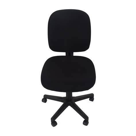 armless adjustable home office chair on sale office