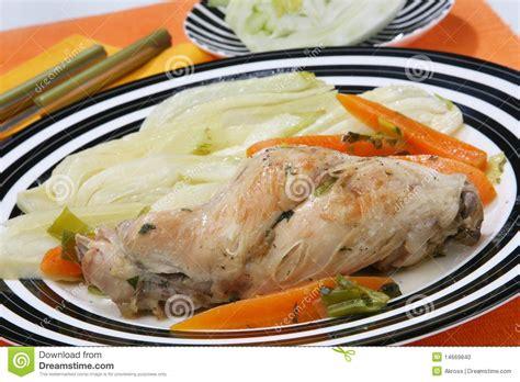 cuisine le fenouil cuisine de lapin avec le fenouil photo stock image 14669840