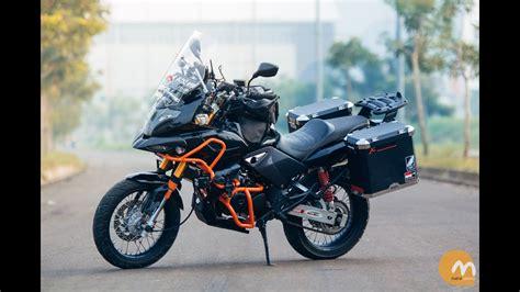 Honda Tiger Modifikasi by Top Modifikasi Motor Adventure Touring Terbaru