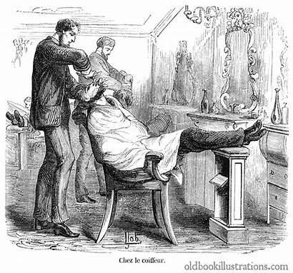 Barber Illustrations Illustration Px Engraving 1200 1600