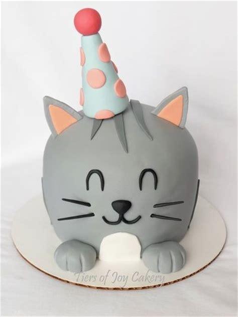Simple Birthday Cake Decorating Ideas by Best 25 Cat Cakes Ideas On Pinterest Kitty Cake Kitten