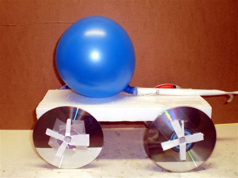 How To Make A Balloon Car  Science Project Ideas
