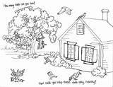 Backyard Yard Coloring Pages Drawing Park Getdrawings sketch template