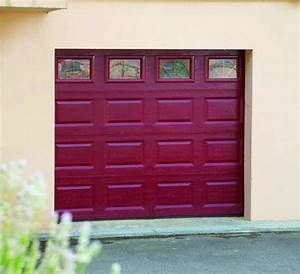 porte de garage sectionnelle motorisee habitat discount With porte de garage sectionnelle paris k7