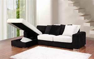 Canapé D Angle Lit Pas Cher : le design du canap convertible pratique et confortable ~ Teatrodelosmanantiales.com Idées de Décoration