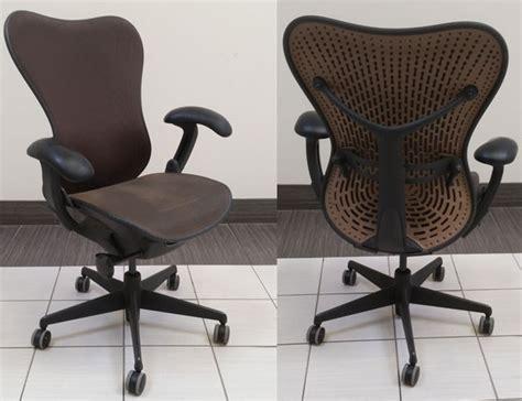 Used Aeron Chair Toronto by Used Herman Miller Mirra Ii Ergonomic Chairs Office