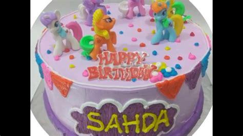 Karpet Karakter Kuda Pony kue ulang tahun pony