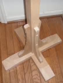 diy woodworking plans  build  coat rack post diy