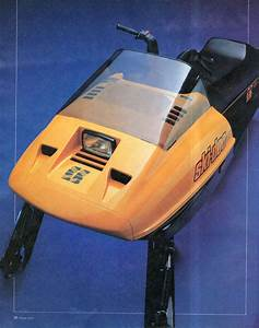 Classic Snowmobiles Of The Past  1984 Ski