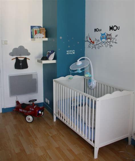 chambre bébé gris blanc bleu chambre bébé bleu canard et blanc