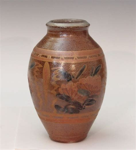 terry plasket wheaton arts stoneware salt glaze vintage
