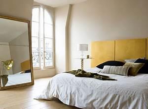 Tete De Lit En Lin : la peinture chambre dit oui la couleur deco cool ~ Teatrodelosmanantiales.com Idées de Décoration