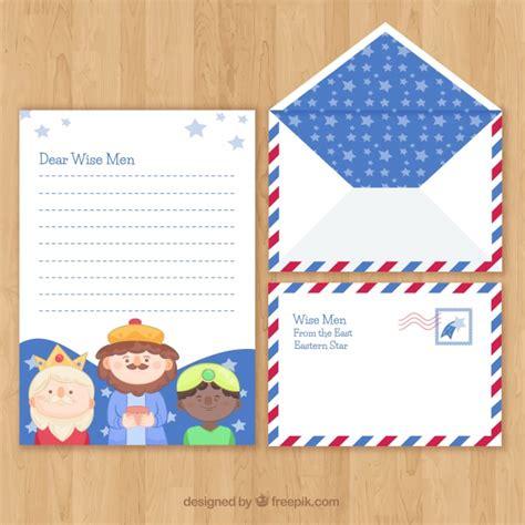 christmas letter  envelope template  children