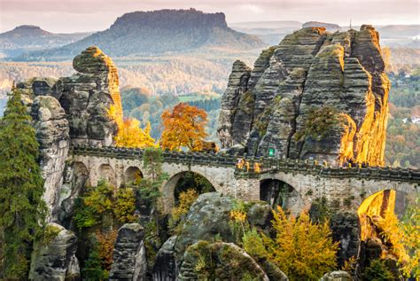 germanys grand canyon saxon switzerland national park