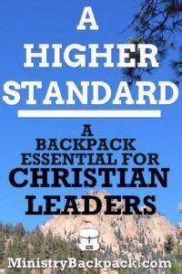higher standard  backpack essential  christian
