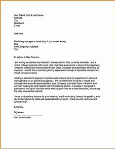 6 how to write a cover letter example lease template for How to write a cover letter template